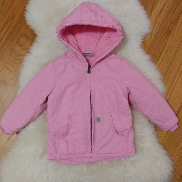 9f89b6cc Carhartt Jackets & Coats | Redwood Sherpa Lined Canvas Coat | Poshmark